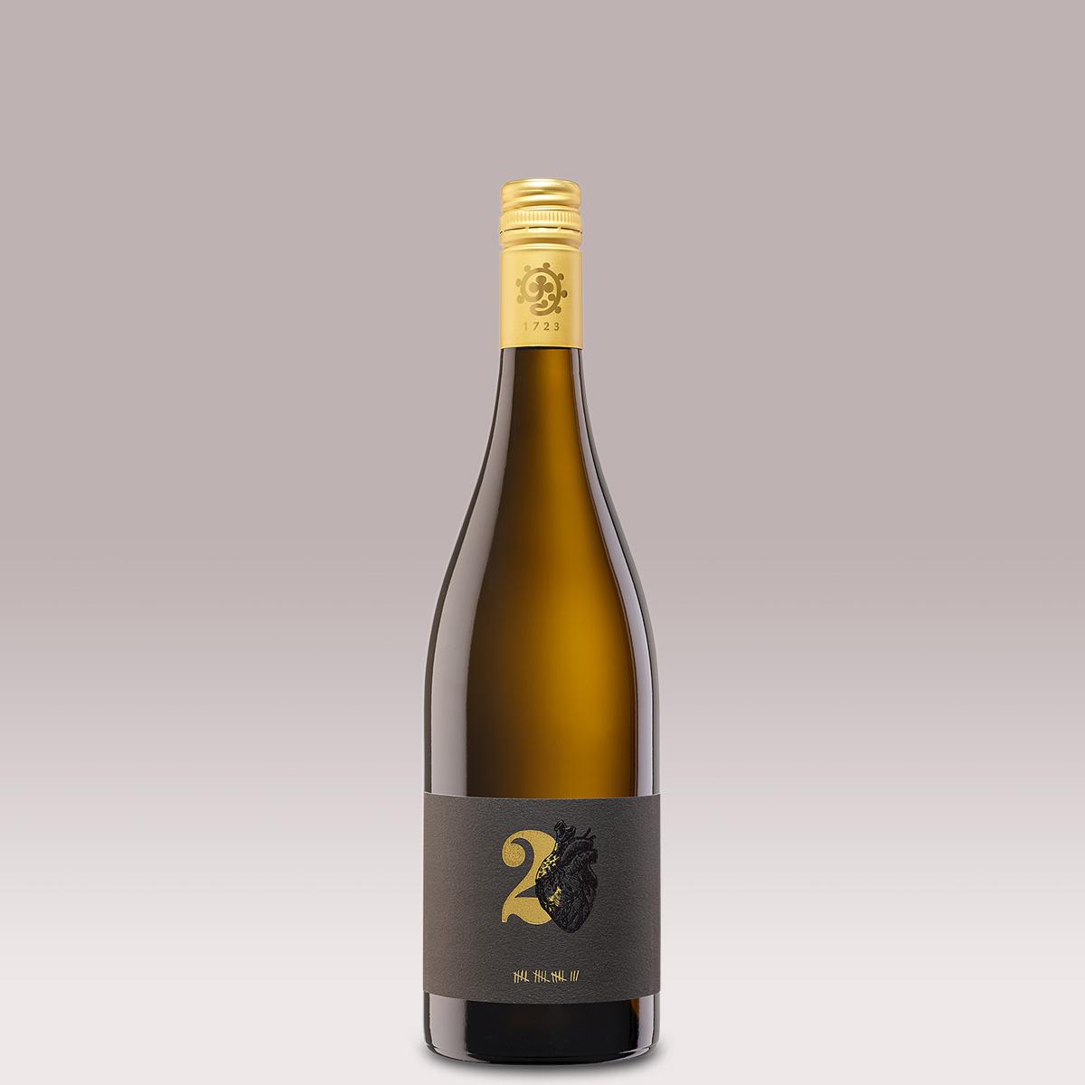 2018 Zwei Herzen Weißwein trocken